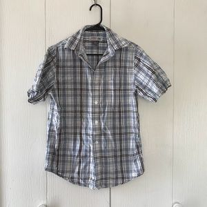 Men's S plaid shirt